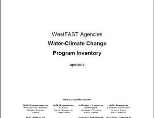 WestFAST Agencies Water-Climate Change Program Inventory (2010)